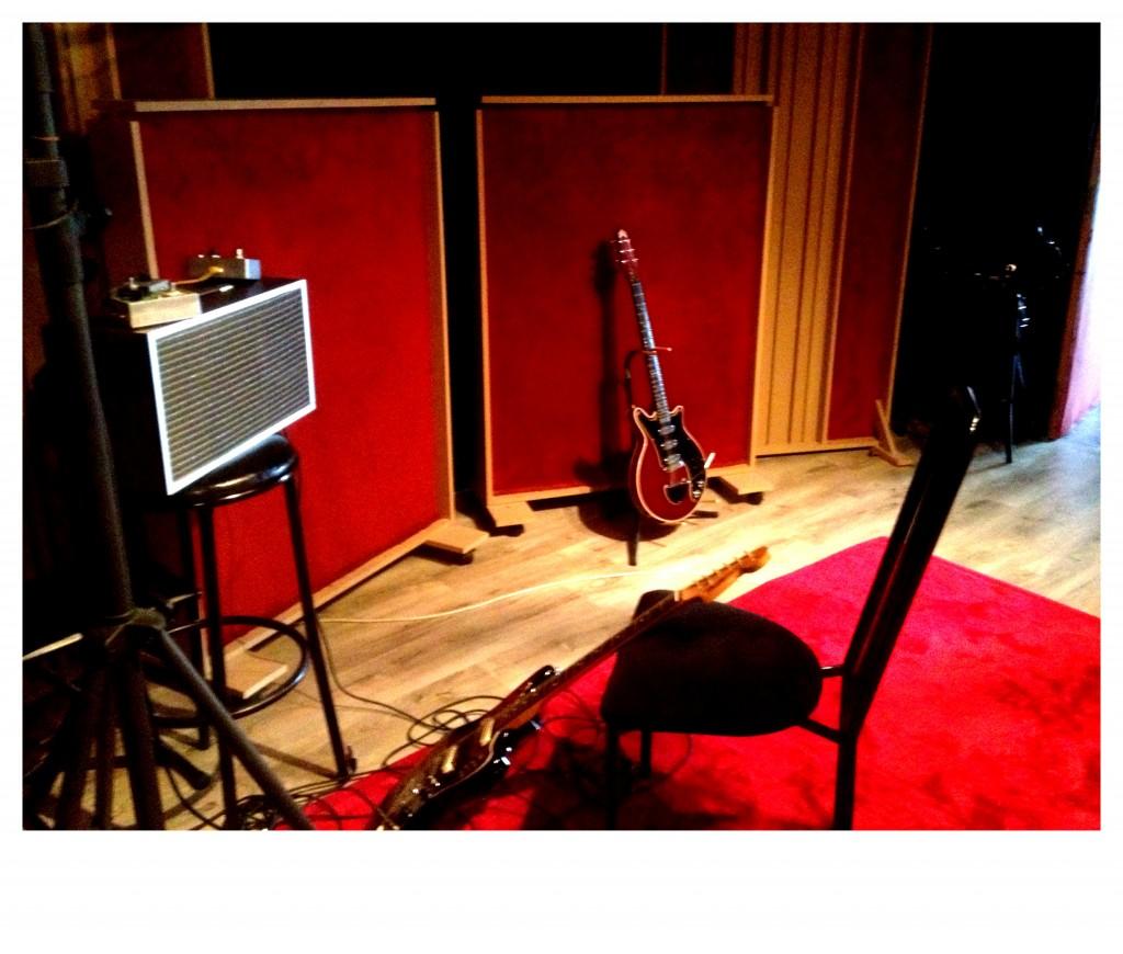 Deacy amp en studio